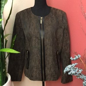 NWOT - Dana Buchman - Python Dress Jacket